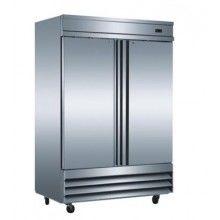 Mitchel 2 Door SSteel Freezer