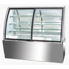 Mitchel Cold Curve Glass Display