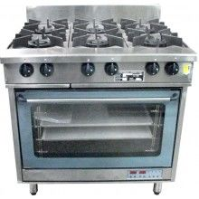 Oxford 6 Burner With Oven