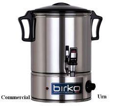Commercial Urn - Birko (10L-40L) Domestic Urn - Birko (5L)