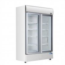 Mitchel 2 Door Glass Fridge