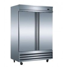 Mitchel 2 Door S/Steel Fridge