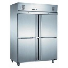 Mitchel 4 Half Door S/Steel Freezer