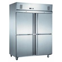 Mitchel 4 Half Door S/Steel Fridge