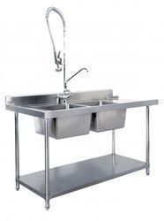 Stainless Steel Dishwasher Washer Bench